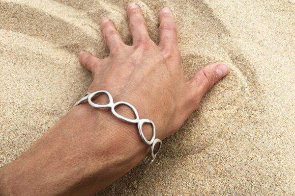 Loop Bangle-worn