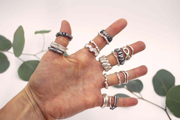 Ring stack-worn1